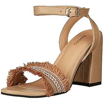 KAANAS Women's Shoes Imbros Peep Toe Casual Slingback Sandals