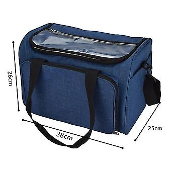 Sewing Accessories Storage Bag - Crochet Hooks Thread Yarn Storage Bag Organizer
