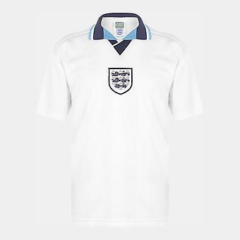 Score Draw Engeland 96 Home Retro Football Shirt