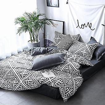 Quilt Comforter Cover Bedding Set And Pillow Case For Home Decoration