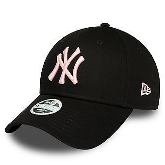 New Era 9Forty Women's Cap - New York Yankees Black / Pink