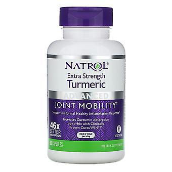 Natrol, Extra Strength Turmeric, Advanced, 60 Capsules