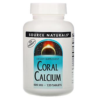 Source Naturals, Coral Calcium, 600 mg, 120 Tablets