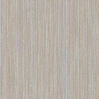 Adeline Stripe Behang Houtskool/Rose Gold Holden 65713