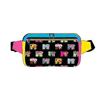 MTV Logo Color Block Bum Bag