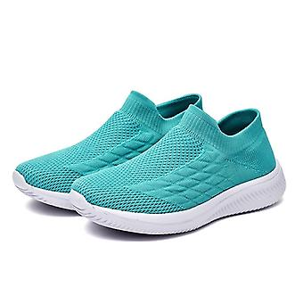 Scarpe da donna Sneakers Flying Weaving Slip-On Breathable Soft Elastic Casual Scarpe