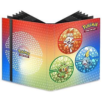 Pokemon 9 Pocket Pro Binder Pokemon Sword & Shield Galar Starters