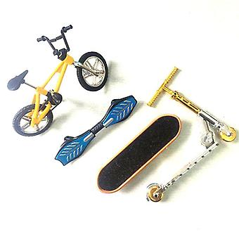 Mini Two Wheel Scooter Bike Fingerboard Skateboard Children's Educational Toy