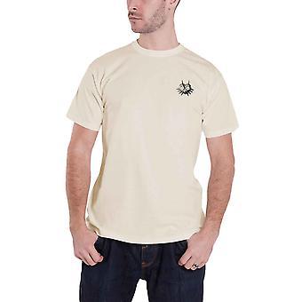 Zelda T Shirt Majoras Masque logo nouveau officiel Mens Grey