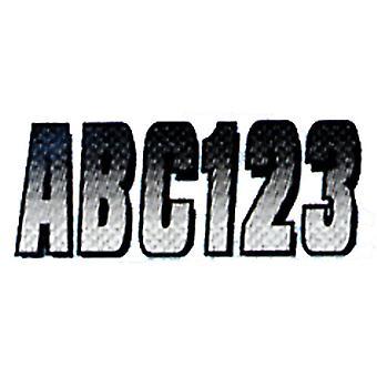WHBKG300 المتشدد 3 مجموعات من ألياف الكربون-أبيض/أسود
