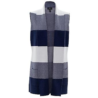 MARBLE Marble Blue Gilet 5916