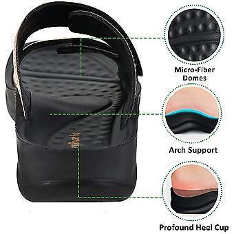 AEROTHOTIC Orthotic Comfort Sandale cu curea duală și șlapi cu Arch Suppo...