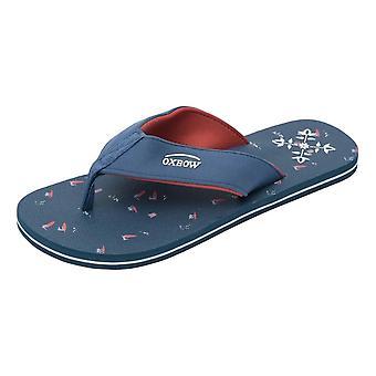Oxbow Velot Flip Flops - Blue - 42