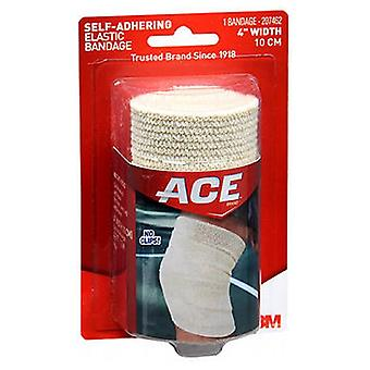 Ace Self-Adhering Elastic Bandage, 4 inches 1 each
