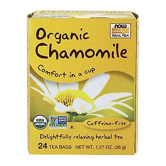 Now Foods Comfy Chamomile Tea Organic, 24 Bags