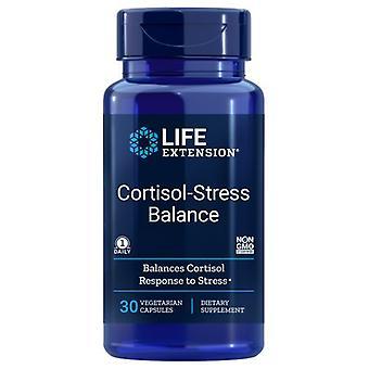 Lebensdauer Verlängerung Cortisol-Stress Balance, 30 Veg Caps