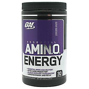 Optimum Nutrition Essential Amino Energy, Concord Grape 30 Servings