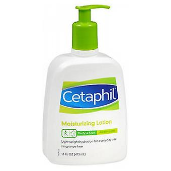 Cetaphil Moisturizing Lotion For All Skin Types, Fragrance free 16 oz
