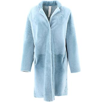 Giani Chantalnamibiaaer Women's Light Blue Fur Coat