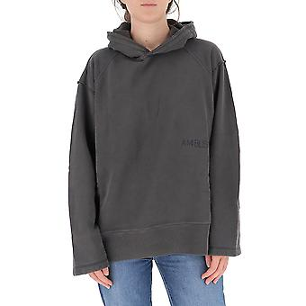 Ambush Bmbb001f20fle0011010 Men's Grey Cotton Sweatshirt