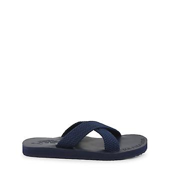 Us polo assn. 4134s9 men's synthetic fabric flip flops