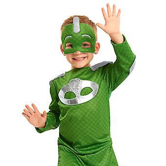 PJ Naamiot Pyjama Heroes Turbo Blast Gecko Naamiaispuku