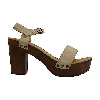 Madden Girl Womens Lift Suede Open Toe Casual Ankle Strap Sandals