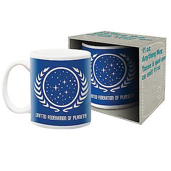 Star Trek United Federation of Planets keraaminen muki