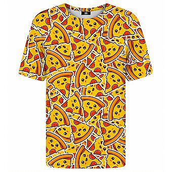 Herra Gugu Miss Go Pizza kuvio t-paita