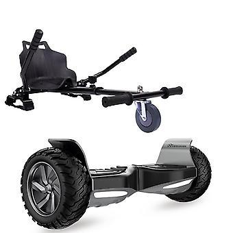 CITYSPORTS Off-road Segway Scooter eléctrico con Hoverkart Bluetooth Hoverboard para niños
