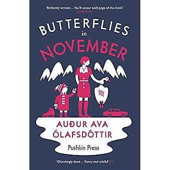 Motyle w listopadzie