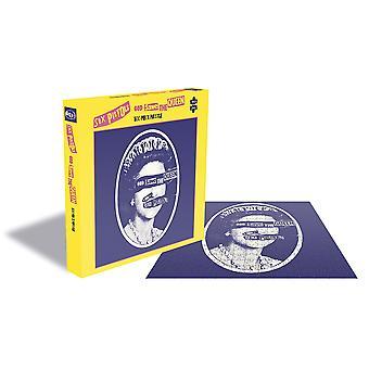 Sex pistols - god save the queen album cover 500pc puzzle