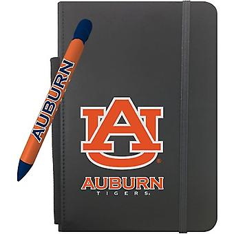 """1211M, Greeting Pen Auburn Tigers 5"""" X 8.25"""" Notebook And 1 Rotating Message Pen Set (1211M)"""