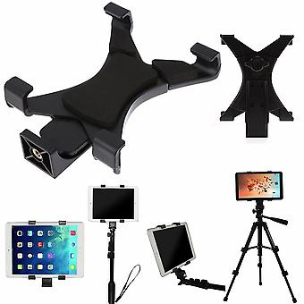 "Universal Tablet Tripod Mount Clamp With 1/4""thread Adapter For Ipad"