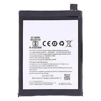 3300mAh Li-Polymer Battery BLP633 voor OnePlus 3T