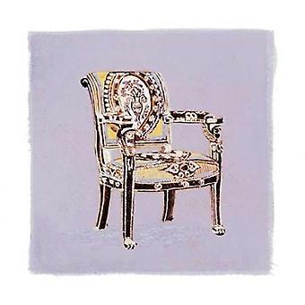 Urna stol jag affisch Skriv av Debbie Nicholas