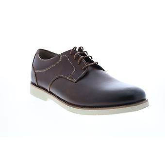 Bostonian Pariden Plain  Mens Brown Oxfords & Lace Ups Plain Toe Shoes