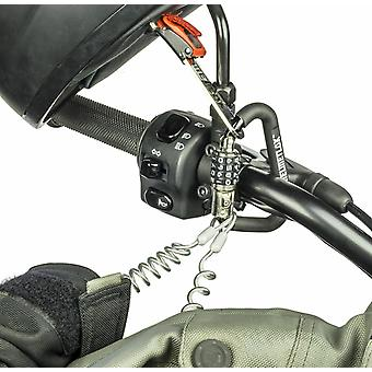 Helmetlok Key Free Security Combination Helmet Lock with Steel Cable and T Bar