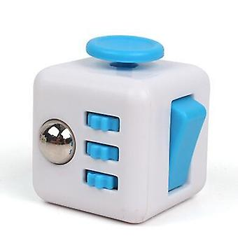High-quality Min Cube Toy Vinyl Desk Finger Toys, Squeeze Fun Stress Reliever