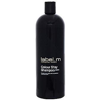 Label.m Colour Stay Shampoo 1000ml
