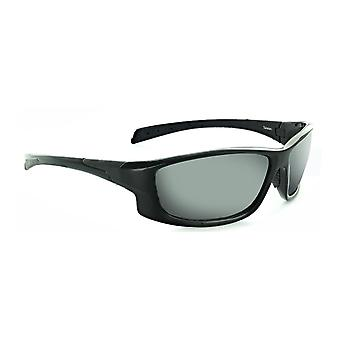 Knuckle by mountain shades - black wrap high impact sunglasses