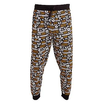 Star Wars Mens Jedi Knight Logo Lounge Bottoms