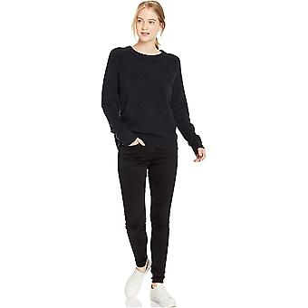 Brand - Daily Ritual Women's Cozy Boucle Crewneck Pullover Sweater, Bl...