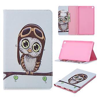 Für Samsung Galaxy Tab A 8.0 2019 T290 T295 Motiv 11 Tasche Kunst Leder Hülle Etuis