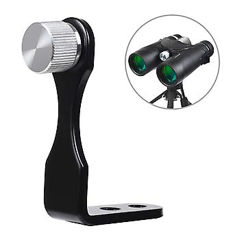 Kylietech universal binocular tripod mount adapter, l bracket metal tripod mounting adapter 50mm wit