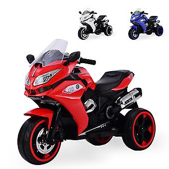 Moni Kids Electric Motorcycle Torino R1200 Faro LED Luces MP3 Salida