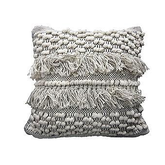 Spura Home Indian Traditional Comfortable Road Gray Moroccan Style Pillows 18x18