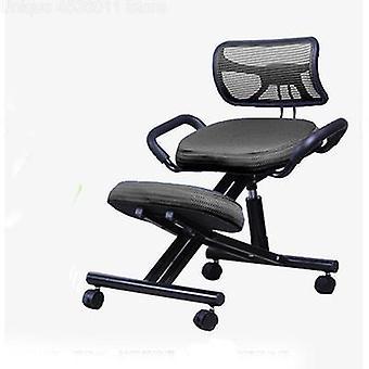 Ergonomisch gestalteter Kniestuhl mit Rücken und Griff Büro Kniestuhl
