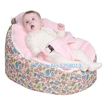 Chirpy Birds Pattern Baby Toddler Kids Bean Bag Seat Crib Portable Beanbag Bed