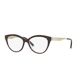 Tiffany TF2180 8275 Havana-Crystal Blue Glasses